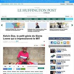 Kelvin Doe, le petit génie du Sierra Leone qui a impressionné le MIT