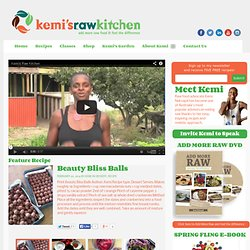 Kemi's Raw Kitchen - Raw food recipes, Raw food classes, Benefits of raw food