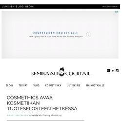 CosmEthics avaa kosmetiikan tuoteselosteen hetkessä - Kemikaalicocktail