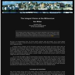 Ken Wilber: The Integral Vision