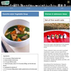 Kenchin-style Vegetable Soup - Bento.com