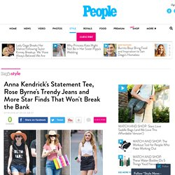 Anna Kendrick, Rose Byrne and More Stars Shop Savvy in the Summer – Style News - StyleWatch - People.com
