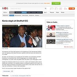Kenia stapt uit Strafhof ICC