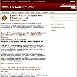 Kennedy Center Alliance for Arts Education Network