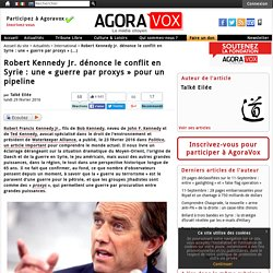 "Robert Kennedy Jr. ""guerres par proxys"""