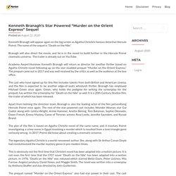 "Kenneth Branagh's Star Powered ""Murder on the Orient Express"" Sequel - Norton.com/setup"