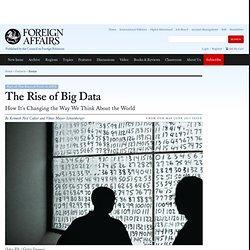 The Rise of Big Data