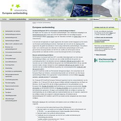 Kennisportal Europese aanbesteding - Theorie en praktijk over Europese aanbesteding