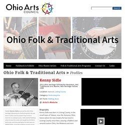 Kenny Sidle - Ohio Folk & Traditional Arts Ohio Folk & Traditional Arts