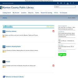 Kenton County Public Library – eMedia