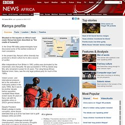 BBC NEWS | World | Africa | Country profiles | Country profile: