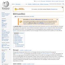 KEO (satellite)