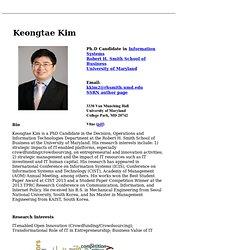 Keongtae Kim
