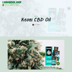 Keoni CBD Oil - #1 USA Cannabidiol Blog