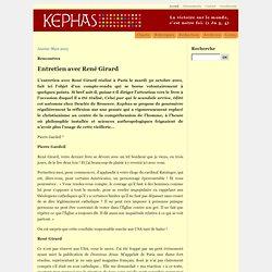 Kephas - Entretien avec René Girard - Vimperator