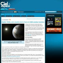 Kepler-452b, une cousine de la Terre à 1400 années-lumière