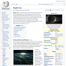 Kepler-62