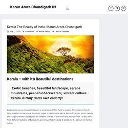Kerala The Beauty of India