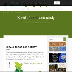 Kerala flood case study