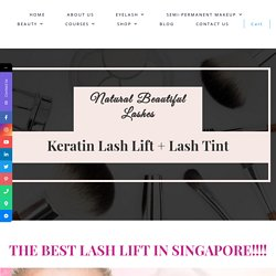 Keratin Lash Lift Protect