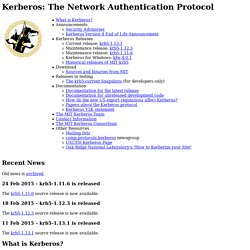 Kerberos: The Network Authentication Protocol