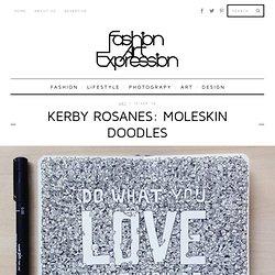 Kerby Rosanes: Moleskin Doodles