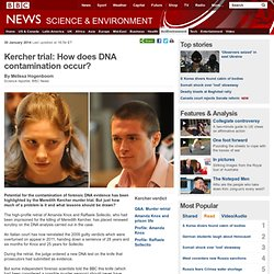 Kercher trial: How does DNA contamination occur?
