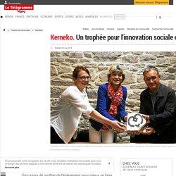 Kerneko. Un trophée pour l'innovation sociale et solidaire - Quimper