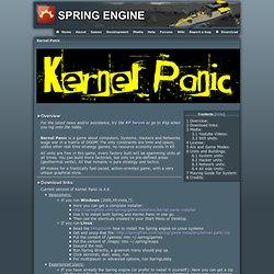 Kernel Panic - Spring