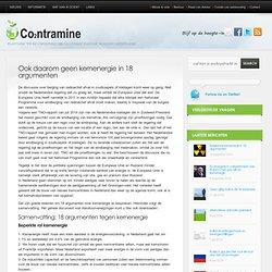 Basiskennis kernenergie in 18 argumenten | Co2ntramine