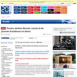 Procès Jérôme Kerviel: suivez la 6e journée d'audience en direct