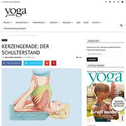 Kerzengerade: Der Schulterstand - Yoga Journal