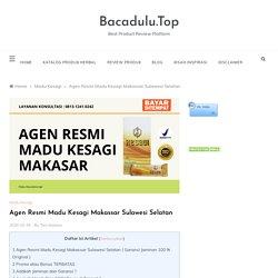 Madu Kesagi Makassar Agen Resmi, Hub: 0813-1241-0242, COD