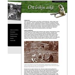 Keski-Suomen museo - Päivä Eilisessä - On leikin aika