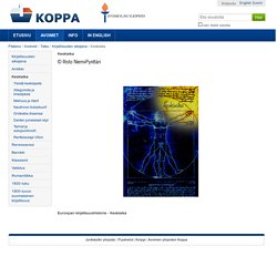 Euroopan kirjallisuushistoria - keskiaika