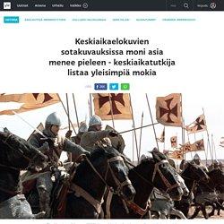 Keskiaikaelokuvien sotakuvauksissa moni asia menee pieleen - keskiaikatutkija listaa yleisimpiä mokia