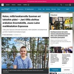 Katso, millä keskiarvolla Suomen eri lukioihin pääsi – Jani Ollila aloittaa erälukion Enontekiöllä, Juuso Laine matikkalukion Espoossa
