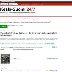Pakolaiskriisi vyöryy Suomeen – Sipilä: jo suurempi ongelma kuin taloustilanne - Keski-Suomi 24/7 - Keskustelupalsta