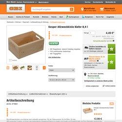 Kesper Allzweckkiste Kiefer 8,4 l kaufen bei OBI