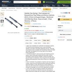 Best Kessebohmer Gas Struts on Amazon