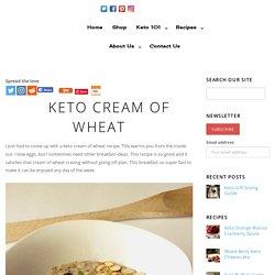 Cream of Wheat - каша