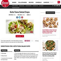 Keto Tuna Salad Cups Recipes
