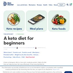 A Ketogenic Diet for Beginners: The Ultimate Keto Guide