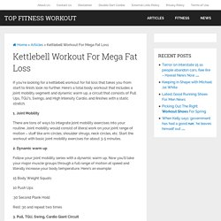 Kettlebell Workout For Mega Fat Loss