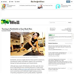 The Kettlebell Workout for Back and Neck Pain