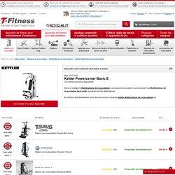 Kettler Powercenter Basic E acheter à bon prix chez - T-Fitness
