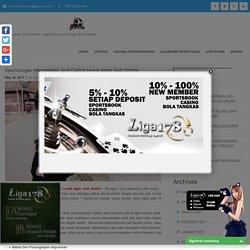 Keuntungan Memainkan Judi Casino Lewat Agen Judi Online