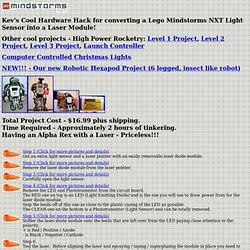 Kev's LEGO Mindstorms NXT Laser Hack