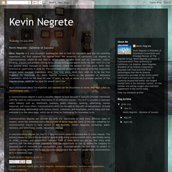 Kevin Negrete – Epitome of Success