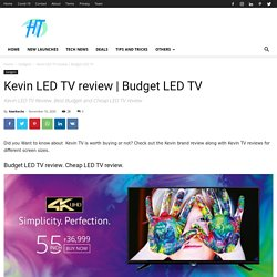 Kevin LED TV review